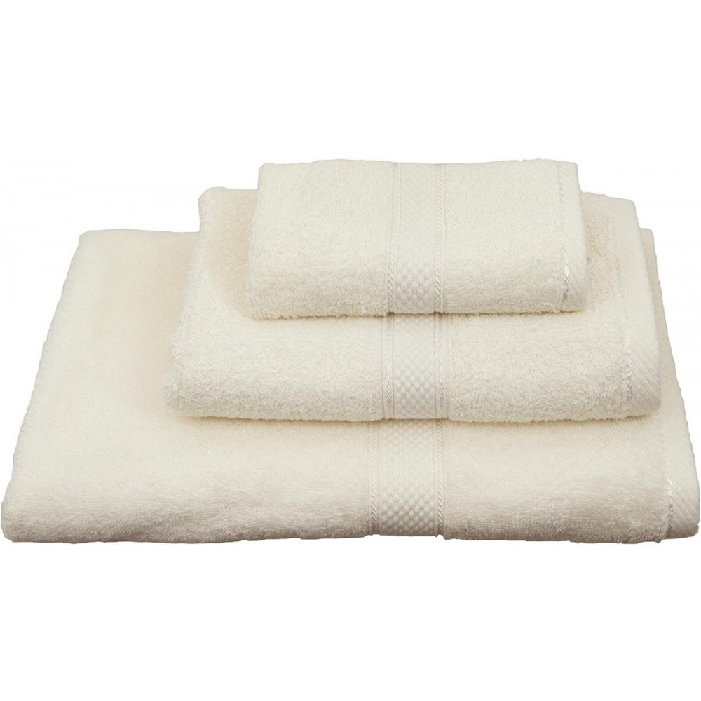 Πετσέτες μονόχρωμες εκρού Viopros Classic