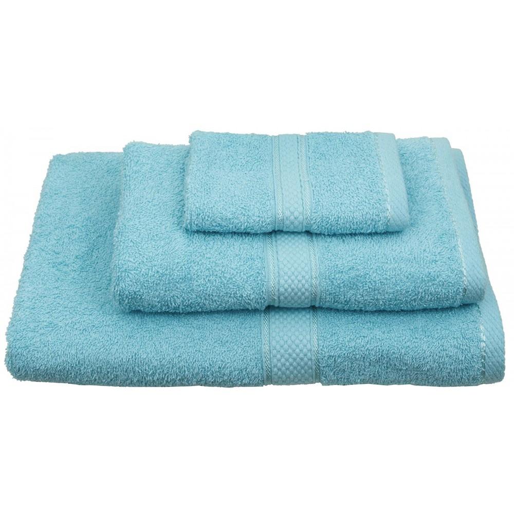 Πετσέτες μονόχρωμες τυρκουάζ Viopros Classic