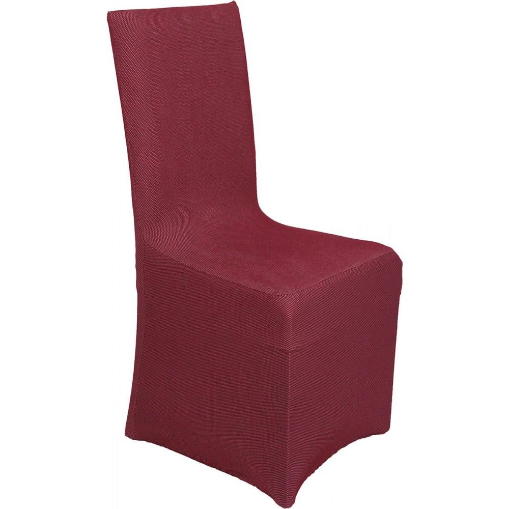 Ελαστικά καλύμματα καρέκλας Viopros Elegant Bordeaux 50x50x100