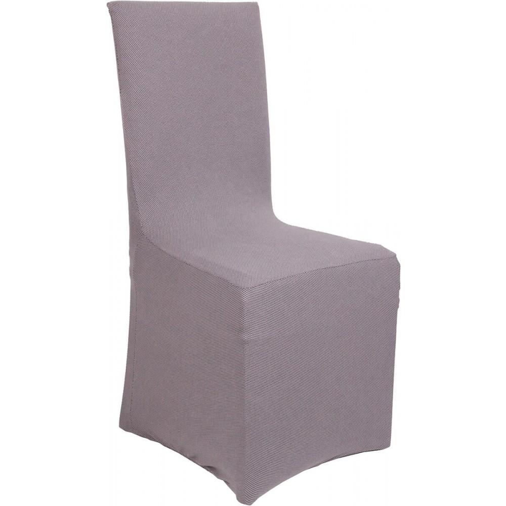 Ελαστικά καλύμματα καρέκλας Viopros Elegant Grey 50x50x100