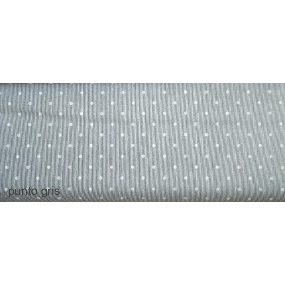 Ύφασμα λονέτα με το μέτρο Estampada Punto gris