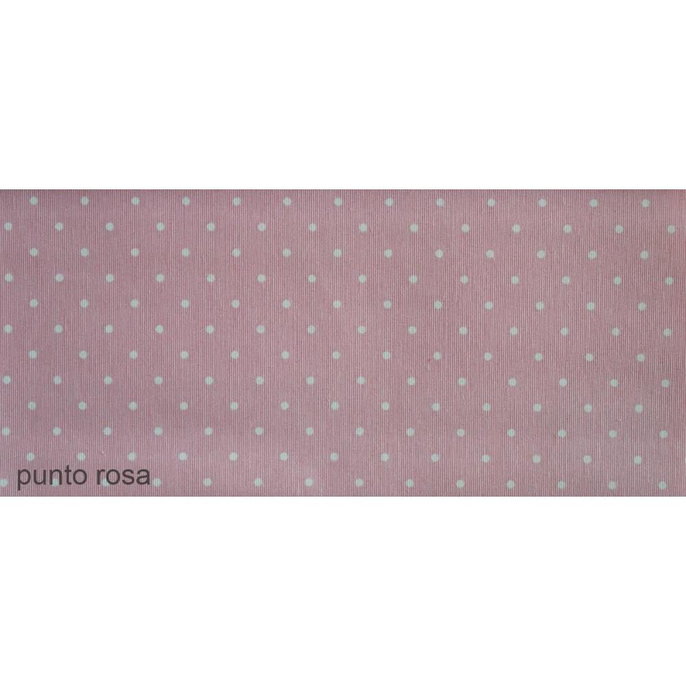 Ύφασμα λονέτα με το μέτρο Estampada Punto rosa
