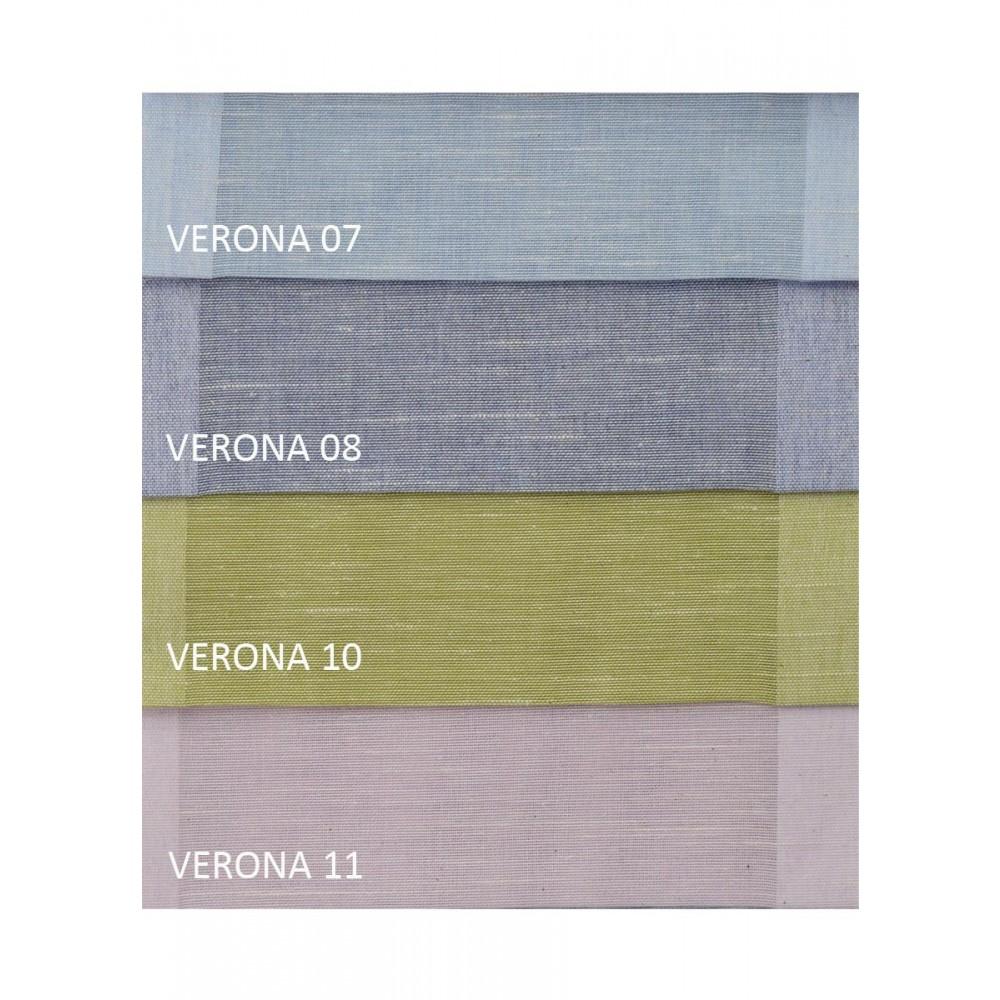 Κουρτίνες μονόχρωμες με το μέτρο φλάμα Verona 3