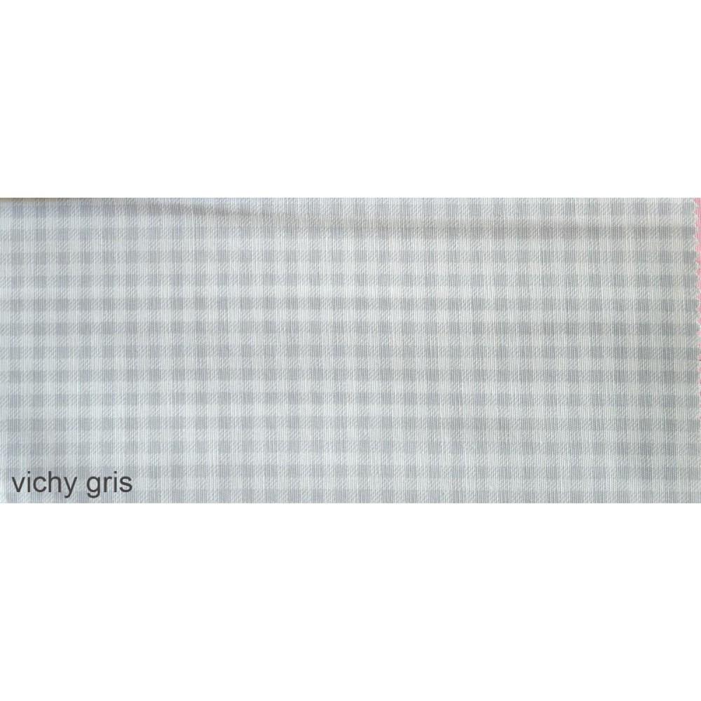 6.ύφασμα vichy gris