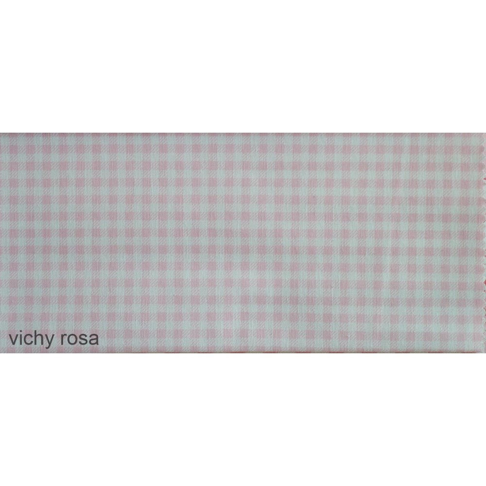 6.ύφασμα vichy rosa