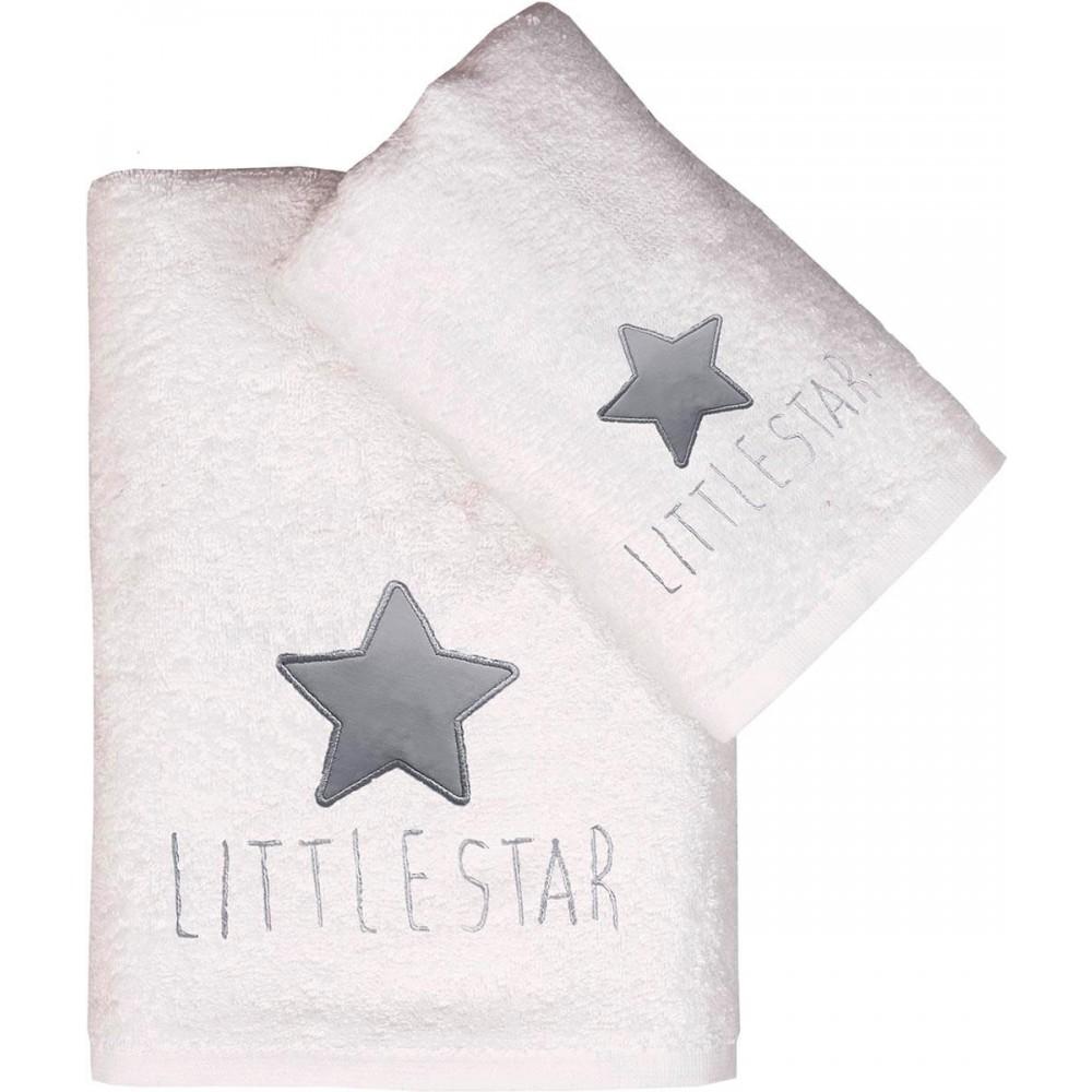 Πετσέτες σετ απλικέ Baby Viopros Τζάσπερ 2τεμ.
