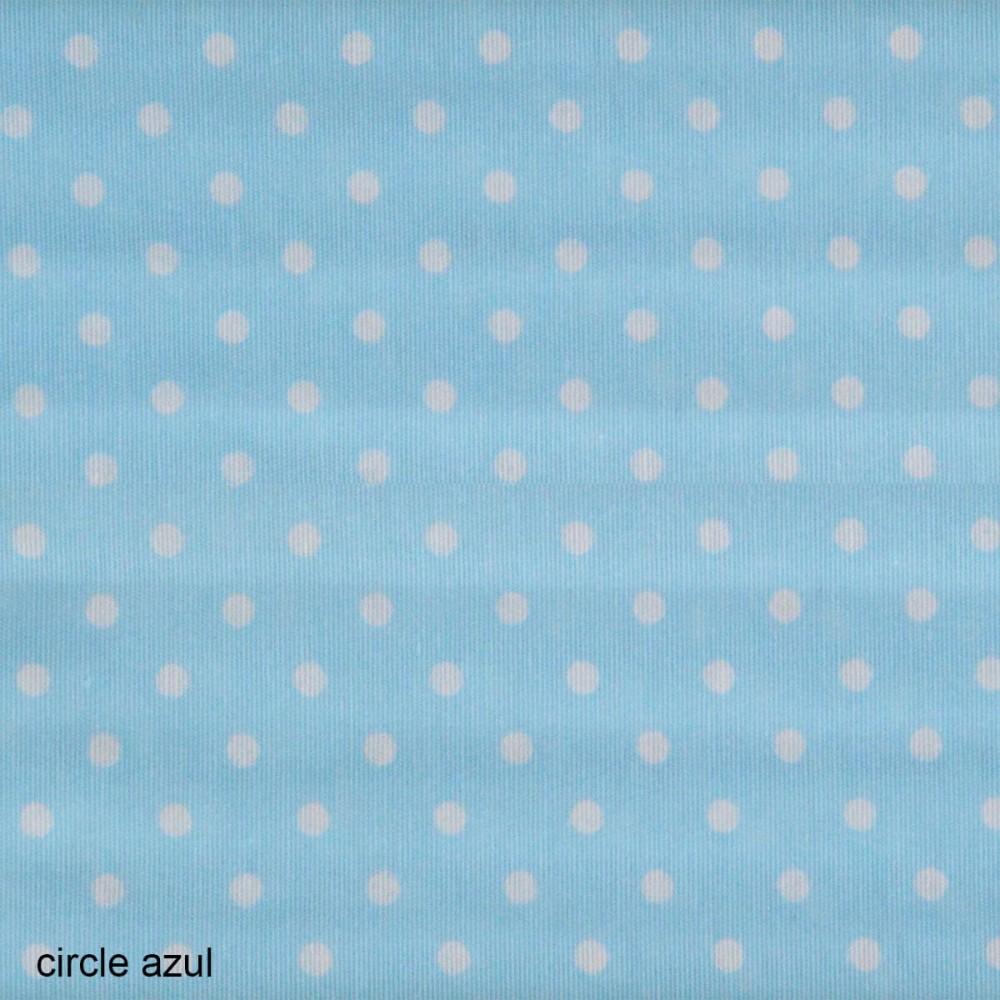 Ύφασμα λονέτα Circle Candy Azul