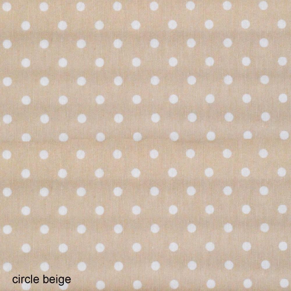 Ύφασμα λονέτα Circle Candy Beige