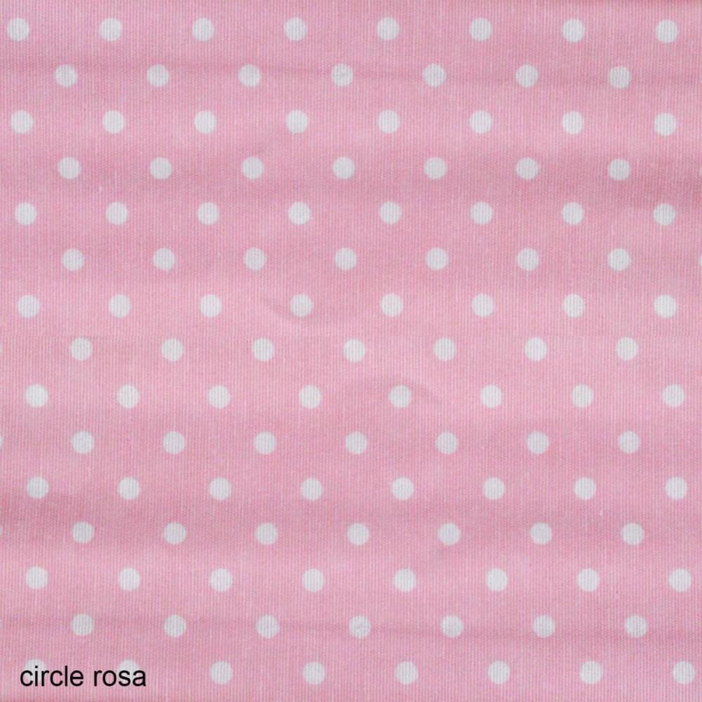 Ύφασμα λονέτα Circle Candy Rosa
