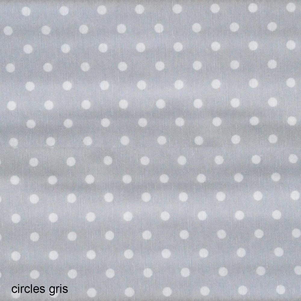 Ύφασμα λονέτα Circle Candy Gris