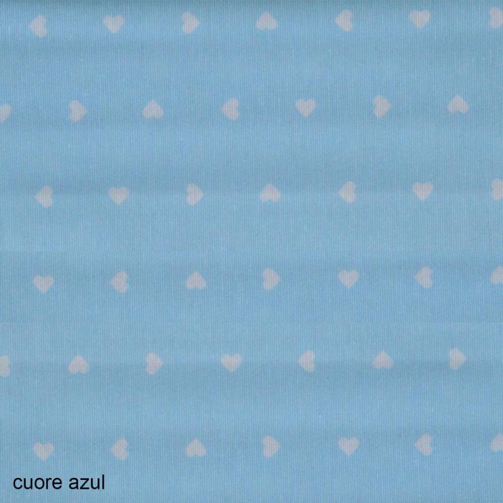 Ύφασμα λονέτα Cuore Candy Azul