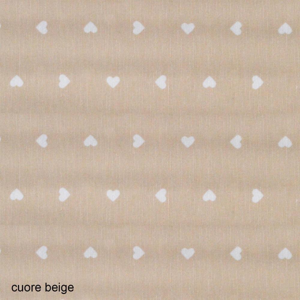 Ύφασμα λονέτα Cuore Candy Beige