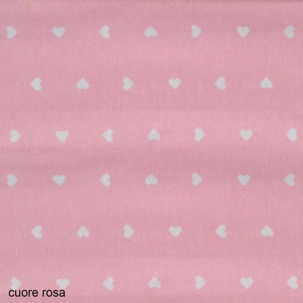 ύφασμα Candy Cuore rosa