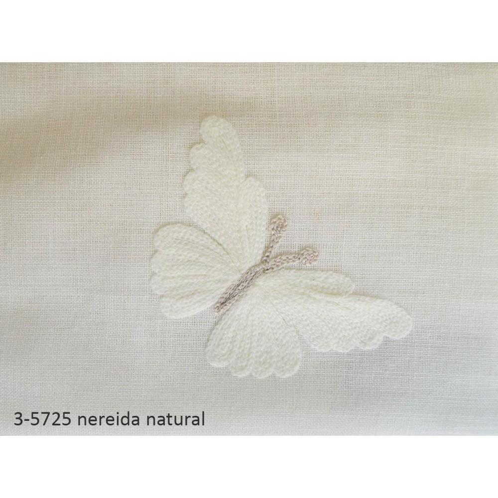 κουρτίνα nereida natural