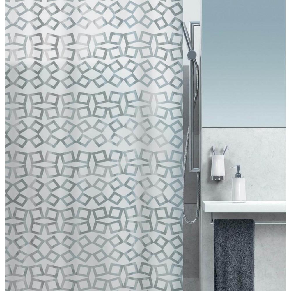 Κουρτίνα Μπάνιου Spirella Grid 00850-1