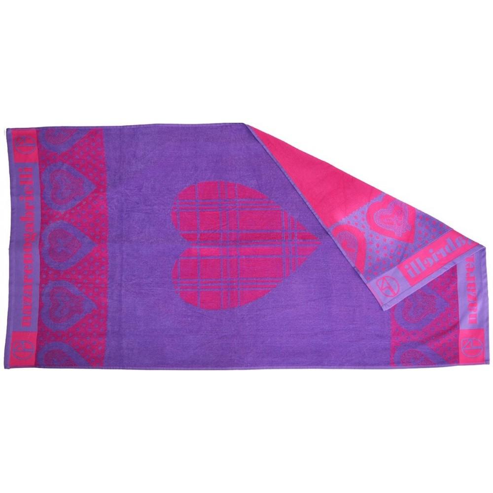Πετσέτα θαλάσσης Heards lilac βελουτέ_1