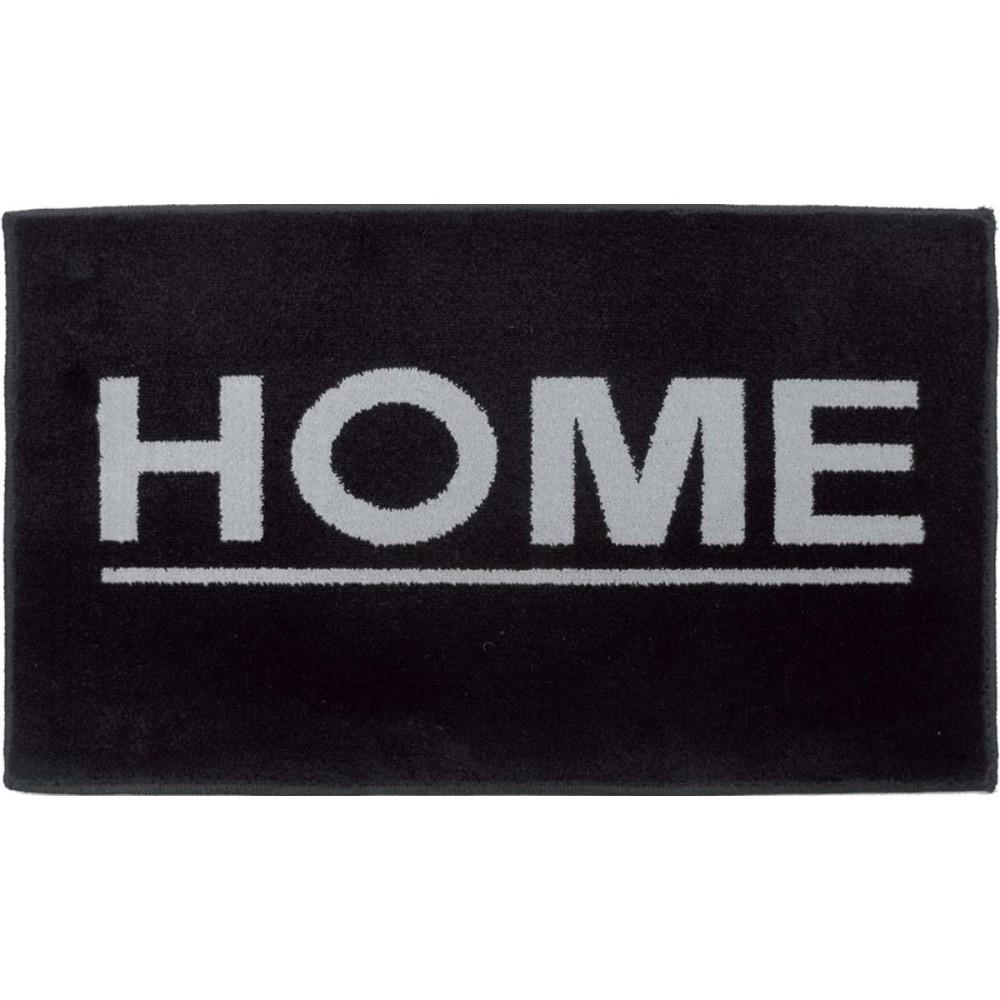 Χαλάκια εισόδου Fashion home black 40x67cm