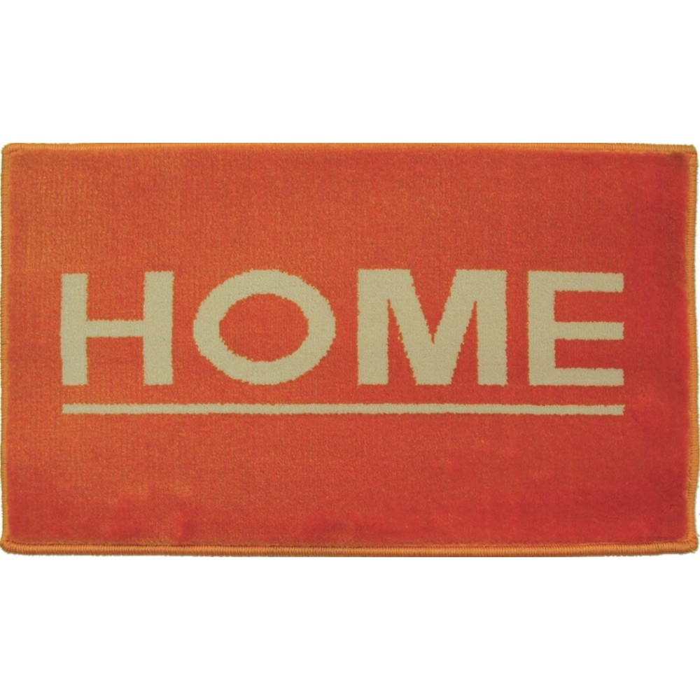 Χαλάκια εισόδου Fashion home orange 40x67cm