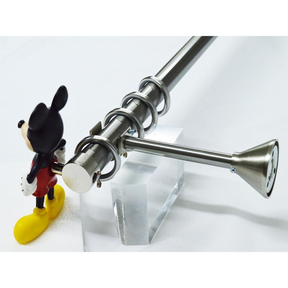 Κουρτινόξυλο παιδικό Disney Mickey Φ 25mm nickel 1