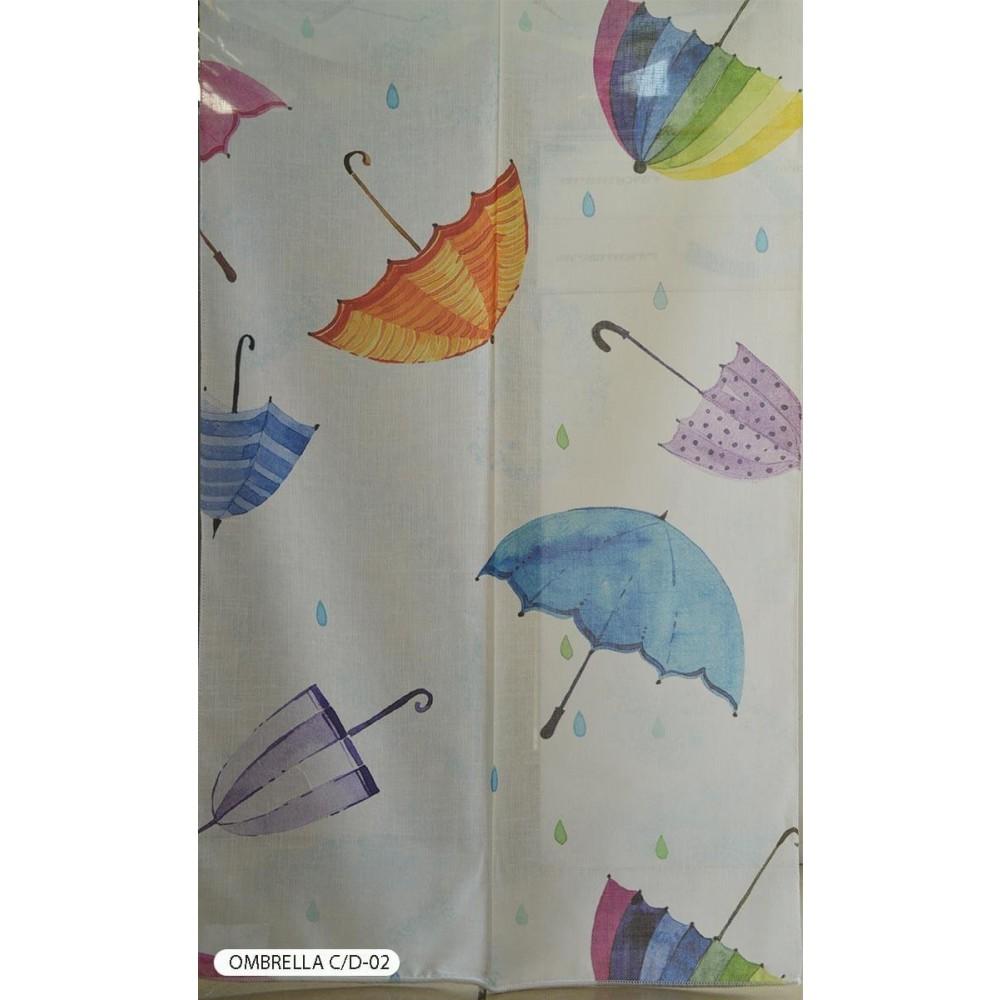 Κουρτίνα παιδική Ombrella C/D-02 με το μέτρο
