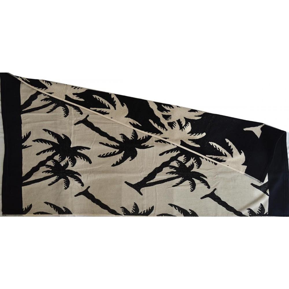 Πετσέτα θαλάσσης Palm trees βελουτέ_1