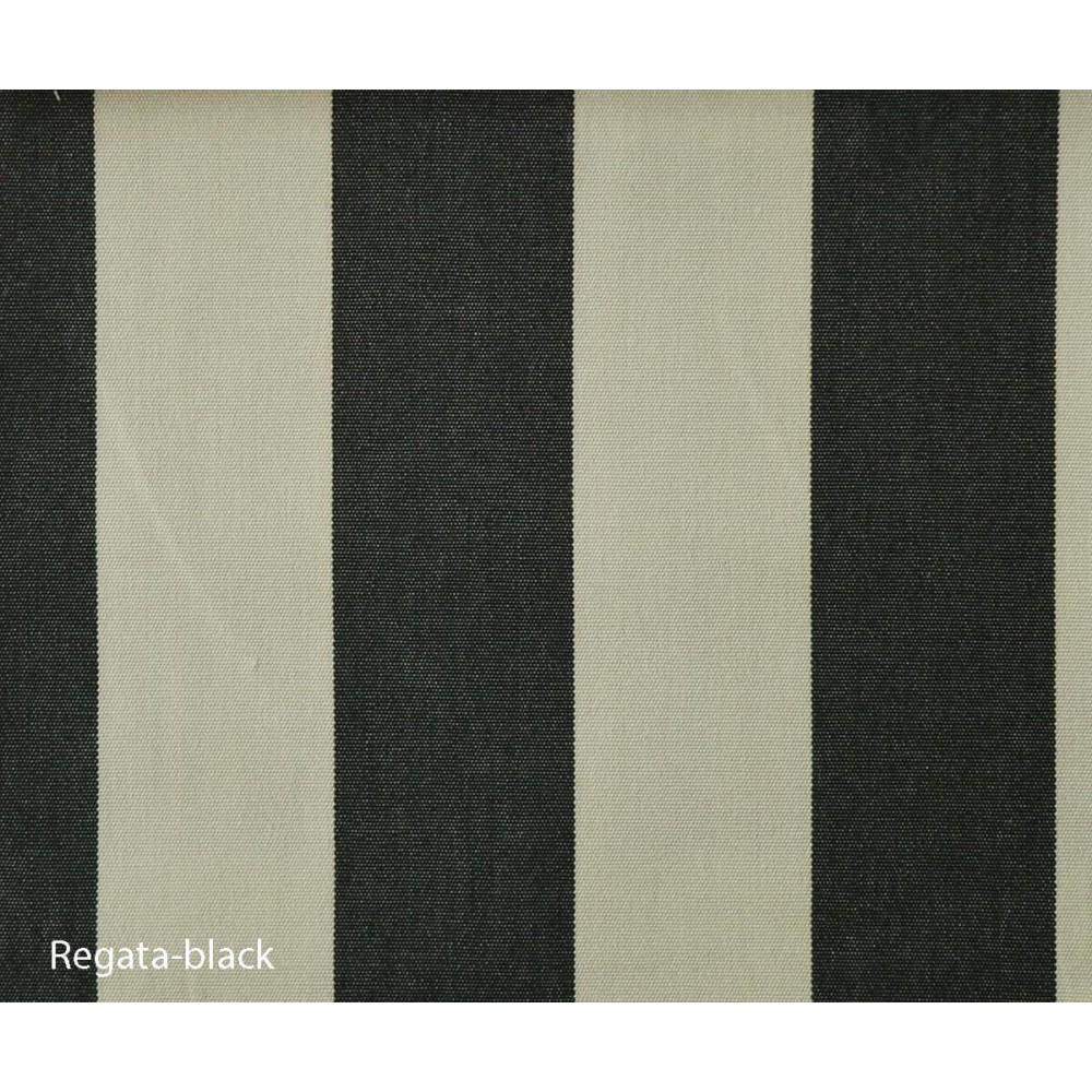 Ύφασμα νηματοβαφή Outdoor Regata Black