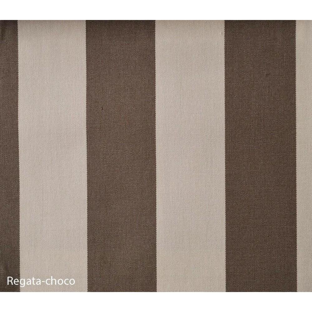 Ύφασμα νηματοβαφή Outdoor Regata Choco