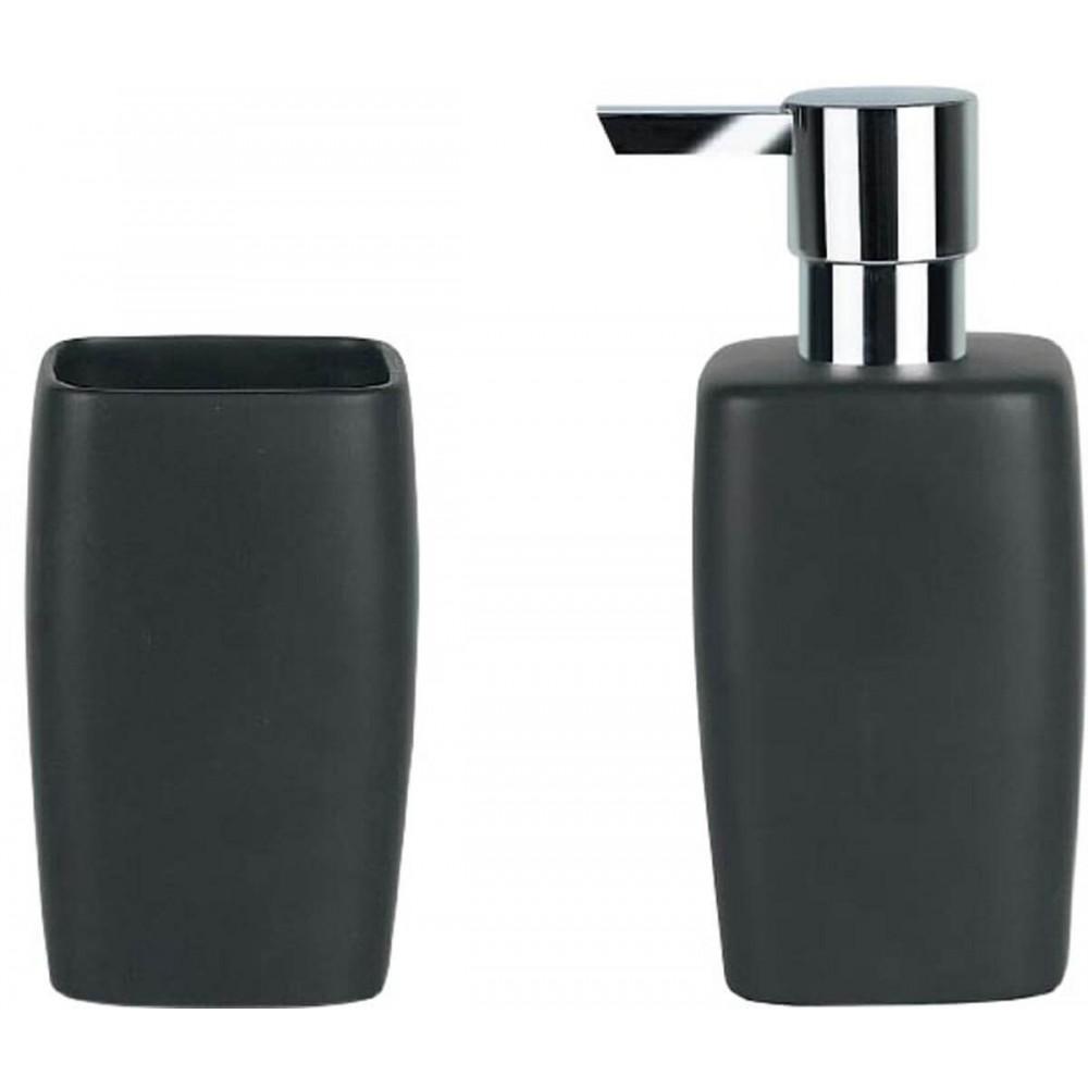 Αξεσουάρ μπάνιου Spirella Retro black