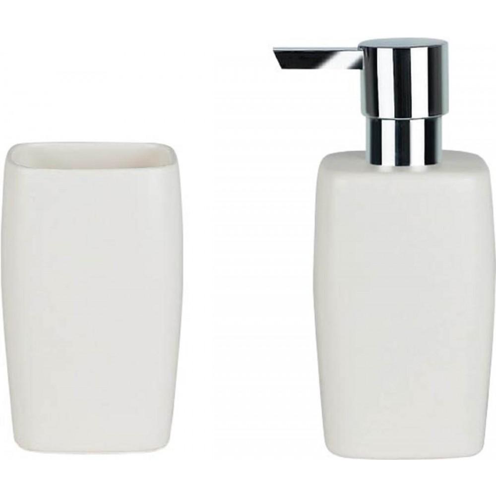 Αξεσουάρ μπάνιου Spirella Retro White