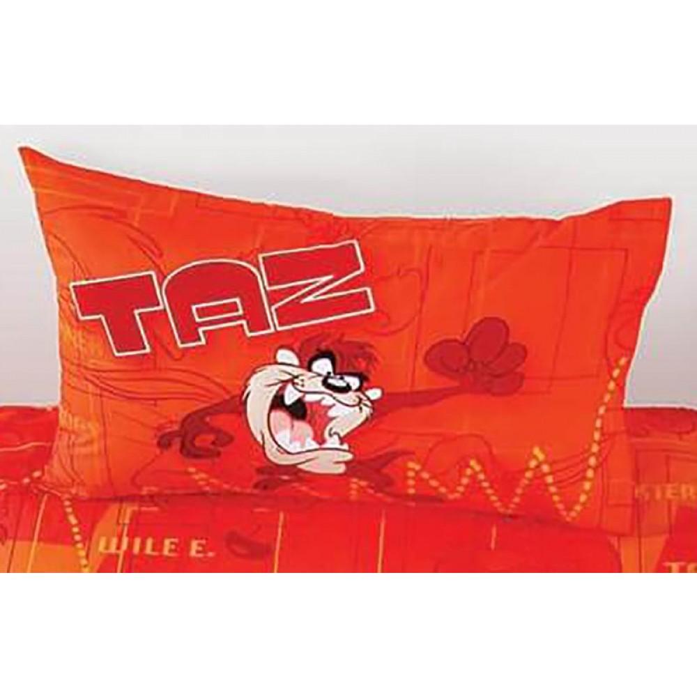 Μαξιλαροθήκες βαμβακερές ζεύγος Taz