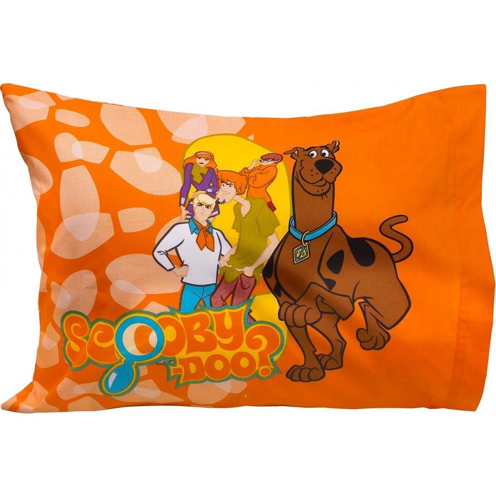 Μαξιλαροθήκες βαμβακερές ζεύγος Scooby Doo