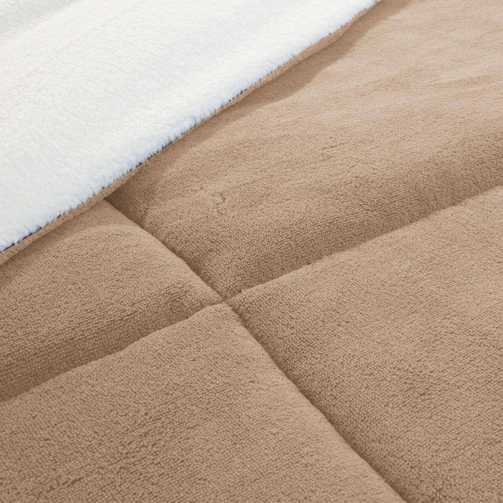 Πάπλωμα Υπέρδιπλο Viopros Ankora Super Soft Warm Beige 220x240