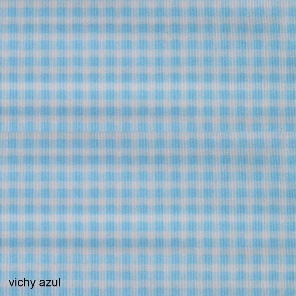 Ύφασμα λονέτα Vichy Candy Azul
