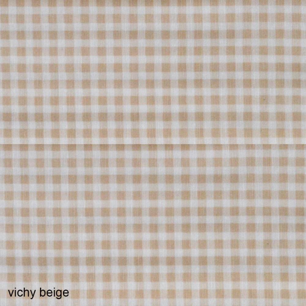 Ύφασμα λονέτα Vichy Candy Beige