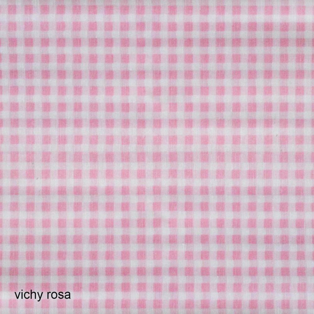 Ύφασμα λονέτα Vichy Candy Rosa