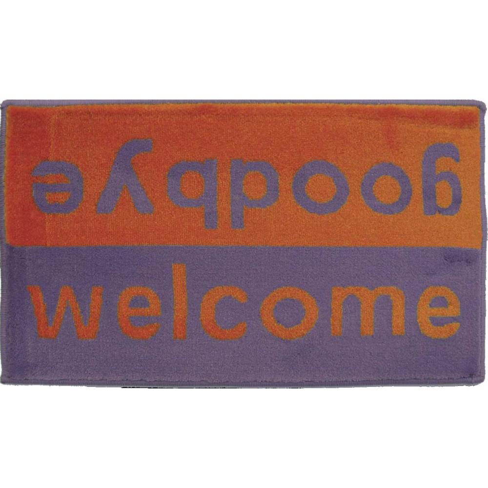 Χαλάκια εισόδου Fashion welcome purple-orange 40x67cm