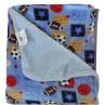 Παιδικές κουβέρτες μονές 2 όψεων Viopros σχ.72 155x220cm